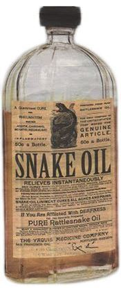 Picture of Snake Oil